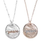 Peace Necklace Set