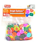 Bright Buttons (1/2 lb.; assorted sizes/shapes/colors)