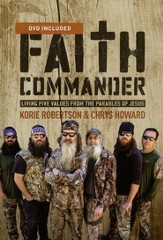 Faith Commander with DVD:  Living Five Values from the Parables of Jesus      - Slightly Imperfect