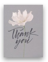 Thank You, Rose & Gray, Blank Note Cards, Set of 10