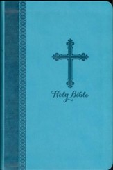 NIV Holy Bible: Gift Edition (Turquoise Italian  Duo-Tone) - Slightly Imperfect