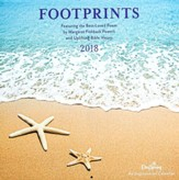 2018 Wall Calendar, Footprints