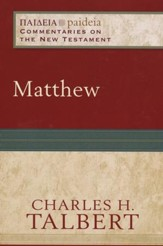 Matthew (Paideia: Commentaries on the New Testament) - eBook