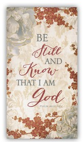Be Still and Know That I Am God Tripad Notepads