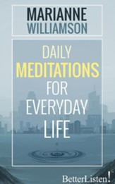 Daily Meditations for Everyday Life - unabridged audio book on CD