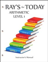 Ray's for Today: Arithmetic Level 1  Instructor's Manual