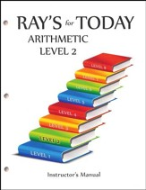 Ray's for Today: Arithmetic Level 2  Instructor's Manual