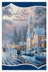 Thomas Kinkade God's Love Christmas Cards, Box of 18