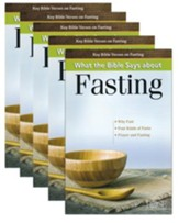What the Bible Says About Fasting, Pamphlet - 5 Pack