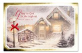 Thomas Kinkade Manger Scene Christmas Cards, Box of 18