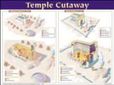 Temple Cutaway - laminated wall chart