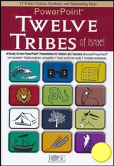 Twelve Tribes of Israel - PowerPoint® CD-ROM