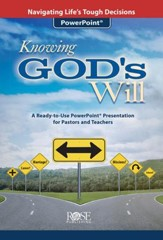 Knowing God's Will PowerPoint Presentation CD