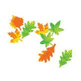 Color Diffusing Paper Leaves (Package of 80)