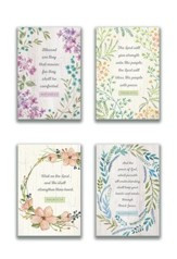 Sympathy, Botanical Frames Cards, Box of 12