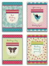 Thinking Of You , Pockets Cards, Box of 12