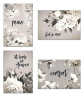 Sympathy, Black and White Cards, Box of 12