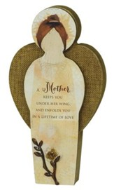 Mother Blessing Angel Plaque