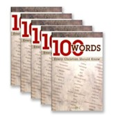 100 Words Every Christian Should Know 5-pack