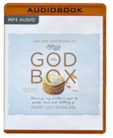 The God Box: Sharing My Mother's Gift of Faith, Love and Letting Go - unabridged audio book on MP3-CD