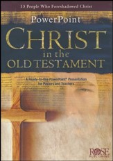 Christ in the Old Testament PowerPoint® CD-ROM  - Slightly Imperfect