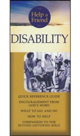 Disability pamphlet: Quick Reference Guide: What to Say and Do, How to Help