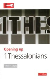 Opening Up: 1 Thessalonians