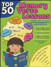 Top 50 Memory Verses with Games and Activities