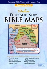 Then and Now Bible Maps PowerPoint Presentation Revised Edition