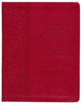 Jesus Calling, Large-Print Deluxe Edition--imitation         leather