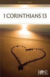 Love Chapter: 1 Corinthians 13 Pamphlet - 5 Pack