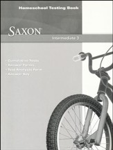 Saxon Math Intermediate 3 Homeschool  Testing Book