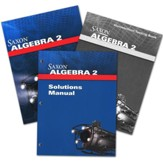 Saxon Algebra 2, 4th Edition,  Homeschool Kit with Solutions Manual