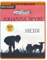Heidi - unabridged audio book edition on MP3-CD