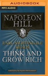 Earl Nightingale Reads Think and Grow Rich - unabridged audio book on MP3-CD