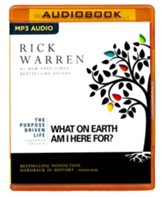 The Purpose Driven Life: What on Earth Am I Here For? - unabridged audio book on CD