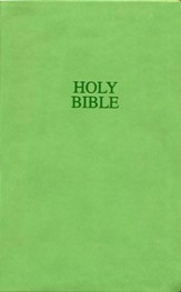 NIV Thinline Bible, Compact, Imitation Leather; Lime