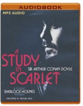 A Study in Scarlet - unabridged  audio book on CD