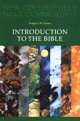 Introduction to the Bible: New Collegeville Bible Commentary - Volume #1