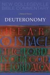 New Collegeville Bible Commentary #6: Deuteronomy