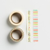 Faith, Hope, Love, Joy, Washi Tape, 2 Pack