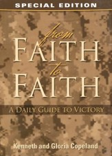 From Faith to Faith Devotional: Military Edition