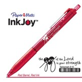 Behold the Joy of His Way Pen, Red