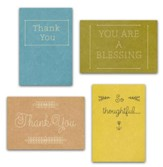 Thank You, Simply Stated Cards, Box of 12