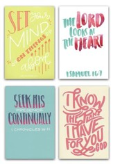 Birthday Cards, Bible Letters, Box of 12