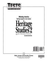 BJU Heritage Studies 2, Tests