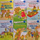 I Can Read Berenstain Bears; 6 Book Set                  - Slightly Imperfect
