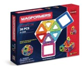 Magformers Rainbow, 26 Piece Set