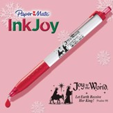 Inkjoy Pen, White and Red