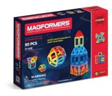 Magformers, Rainbow Set, 50 pieces